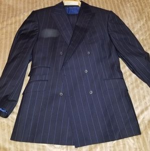Clement and Church Men's double breasted suit